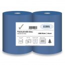 Industrial roll, 2-ply, 36 cm x 1000 sheets, blue,...