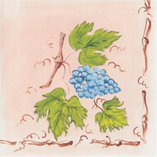 Airlaid napkins, 40x40 cm, Grapes, 16x50 pcs./carton