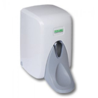 Medical-soap dispenser with loang lever, 1000 ml, white,  ABS, refillable