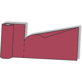 Table runner Airlaid, 40x120cm, burgundy, 20 sheets 12 rolls